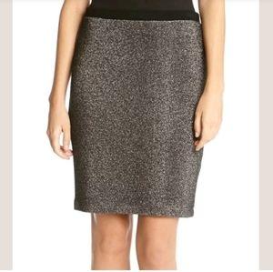 Karen Kane metallic pencil skirt 1X